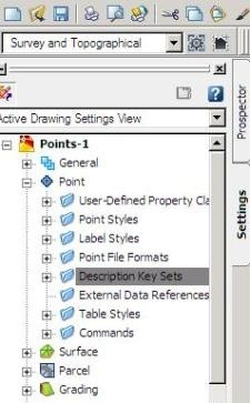 AutoCAD Civil 3D, importing points from an external database