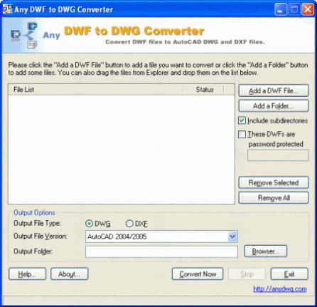 clip image00235 AnyDWG, to convert dwg files without AutoCAD
