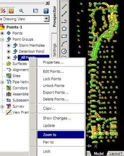 clip image0091 AutoCAD Civil 3D, importing points from an external database