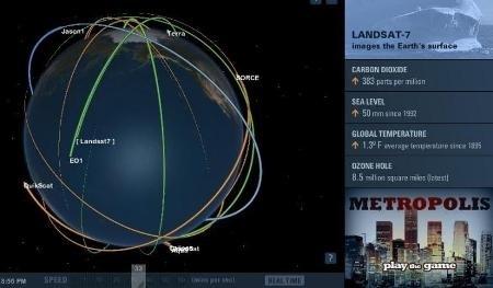 clip image00125 NASA satellites in real time