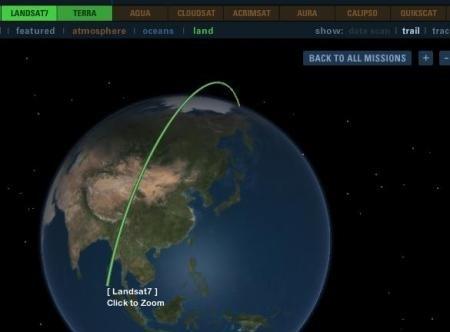 clip image00218 NASA satellites in real time