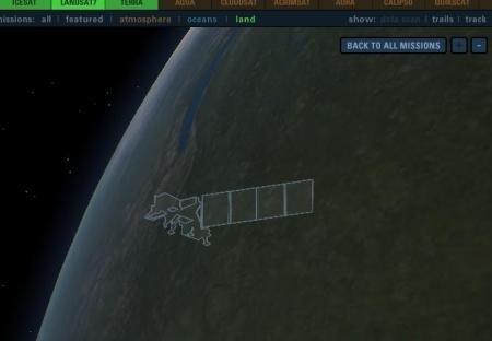 clip image00311 NASA satellites in real time