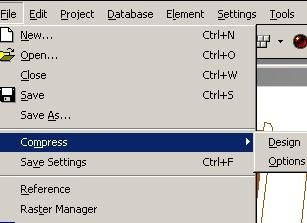 clip image001232 How to make small a dgn / dwg file size