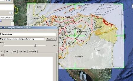 immagini georeferenziate da google maps