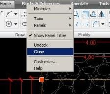 clip image00350 Removing the Ribbon in AutoCAD 2009?