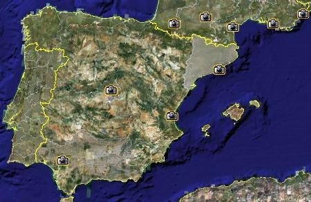 Google Earth Map Of Spain.Spain The Second European Country To Have Street View Autocad