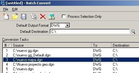 clip image00111 Convert lot of AutoCAD/Microstation files